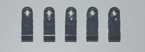 Cinco piezas grises